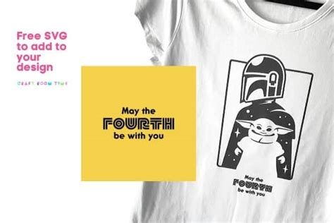 May the 4th be with You Star Wars Baby Yoda SVG   Craft ...
