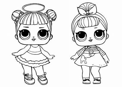 Lol Coloring Doll Dolls Sugar Printable Surprise