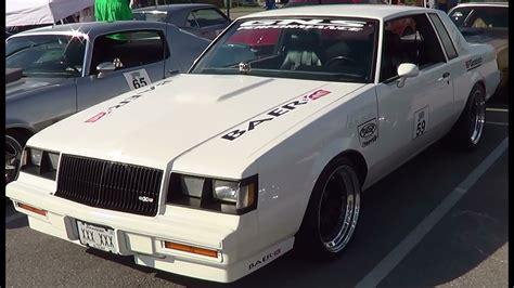 1986 Buick T-type American Street Car Series