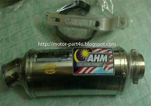 Ahm M1 Exhaust Full System Yamaha Lc135