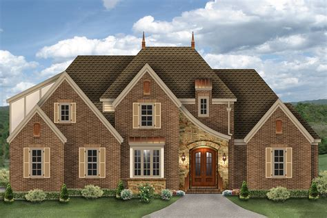 Elegant French Country House Plan