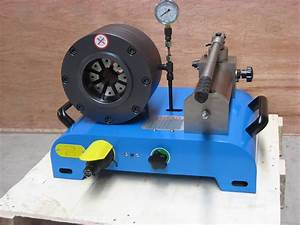 Manual Hose Crimping Machine For Crimping 1  8 To 3 Inch