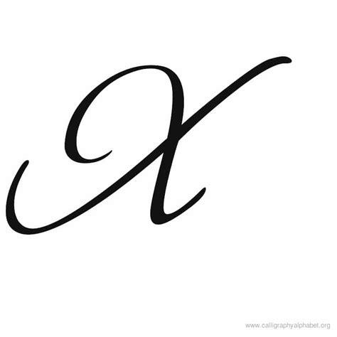 calligraphy alphabet  alphabet  calligraphy sample styles
