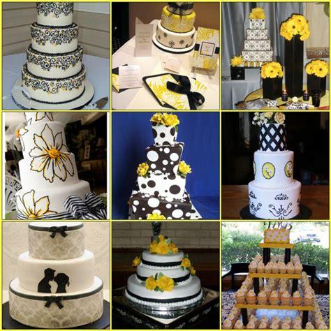 evoking elegance yellow black wedding inspirations principles in wedding