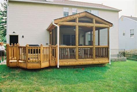 screened in patio screen porches maryland washington dc va pa de
