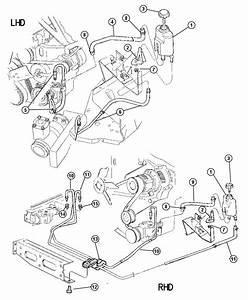 Jeep Wrangler Reservoir  Power Steering Pump
