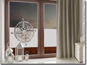 Selbstklebende Folie Fenster : fensterfolie kompass ~ Frokenaadalensverden.com Haus und Dekorationen