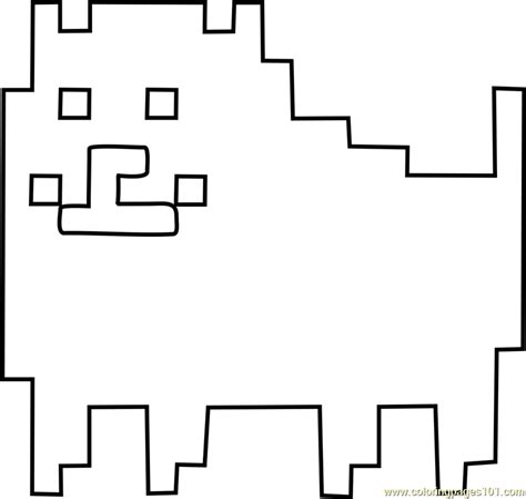 annoying dog undertale coloring page  undertale coloring pages coloringpagescom