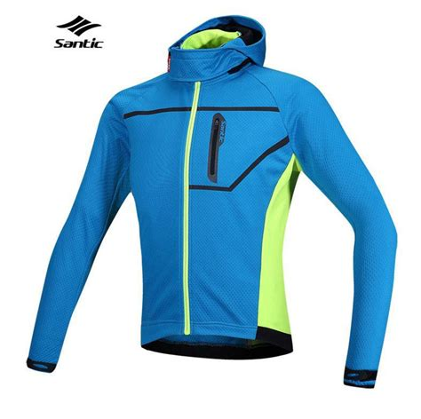 thermal waterproof cycling jacket 2015 santic thermal hooded cycling jacket composite carbon