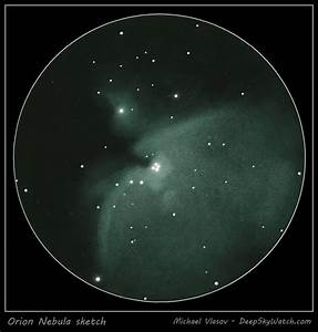 Messier 42, 43 (The Orion Nebula) - Deep Sky Watch