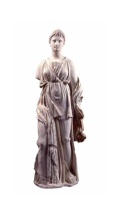 Greek Statue Roman Female Marble Found Bc