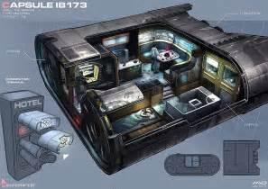 Futuristic Living Room Furniture Hotel Interiors Cyberpunk