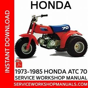 Honda Atc 70 1973 U20131987 Service Workshop Manual
