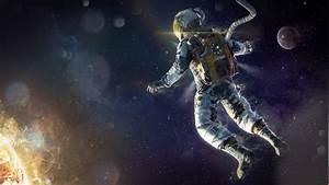 artwork, Fantasy Art, Astronaut, Space, Stars, Sun ...