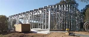 deroulement de la construction hci constructions With plan de maison 150m2 1 montage en une journee dune maison ossature