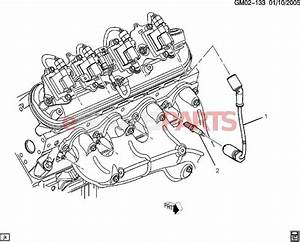 12621258  Saab Spark Plug  5 3l  6 0l
