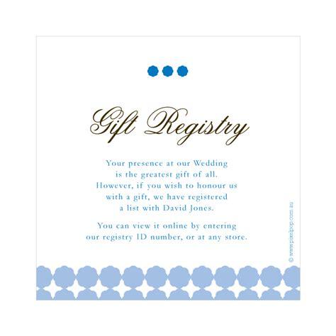 money wedding registry wedding gift registry wording www pixshark images