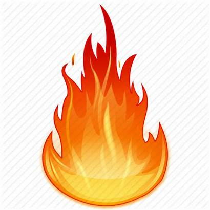 Heat Fire Flame Icon Burning Burn Icons