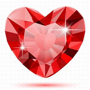 Diamond Heart by Cherkas GraphicRiver