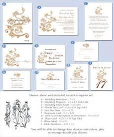 wedding templates wedding invitations template printable diy templates