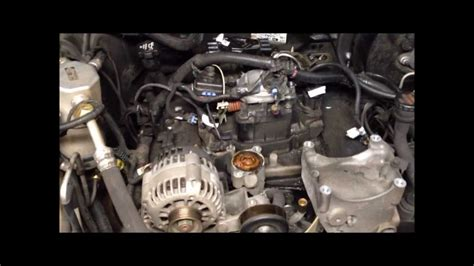 chevy blazer intake gaskets replaced cooling system
