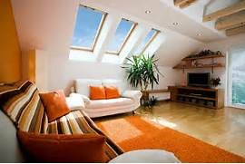 Medium Attic Living Room Design Attic Space Makeovers How To Raise The Standards