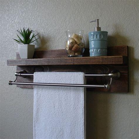 modern rustic  tier bathroom wall shelf awesome towels