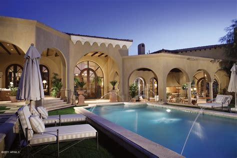 santa barbaratuscan inspired mansion  scottsdale az