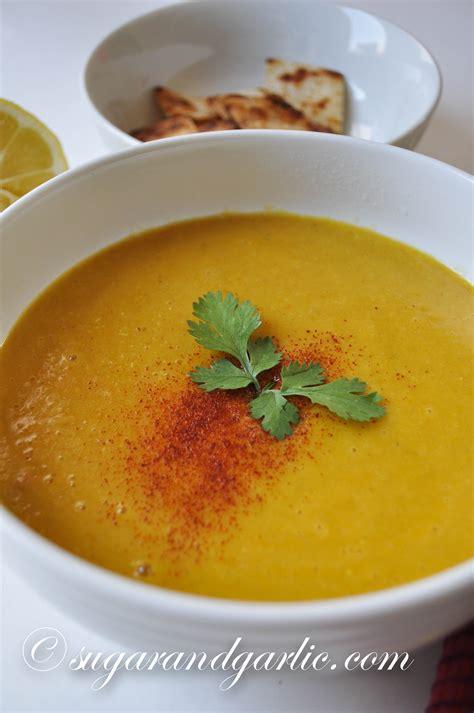 Mediterranean Yellow Lentil Soup