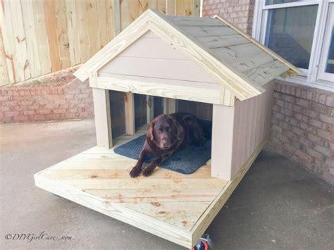 build  remarkable diy dog house   plans