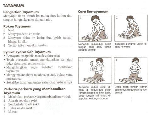 materi pelajaran agama tata  mandi wajib wudhu  tayamum  gambar penjelas