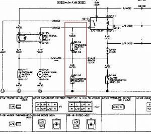 1991 Or 1992 Mazda 626 Ac Compressor Wiring - 1988-1992  2 2l