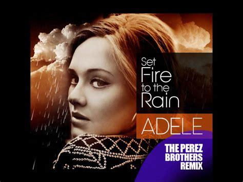 Adele Set Fire To The Rain Lyrics Hrvatski