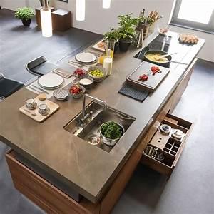 Küche Mit Kochinsel : die besten 17 ideen zu kochinsel auf pinterest l k chen ~ Michelbontemps.com Haus und Dekorationen