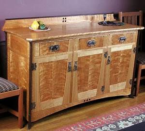 Arts and Crafts Sideboard - PURDYS' FINE FURNITURE & CABINETRY