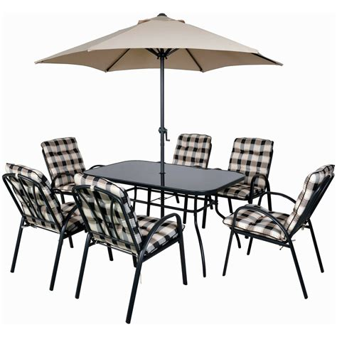 Patio Table And 6 Chairs by 6 Seater Patio Furniture Set Luxury Garden Dining Table