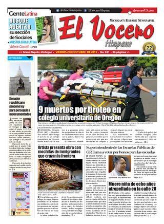 El Vocero Hispano 2 de Octubre de 2015 by El Vocero