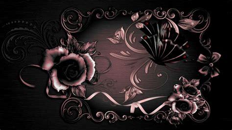 99 Wallpaper Butterfly Rose Gold Photograph