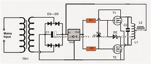 Simple Induction Heater Circuit