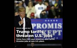 Carmaker stock prices fall after Trump tariff threats ...