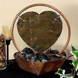 Copper tabletop water fountain fountain design ideas for Best tabletop water fountains ideas