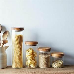 Bocaux En Verre Pour Conserves : les bocaux en verre sont un vrai hit pour la cuisine ~ Nature-et-papiers.com Idées de Décoration