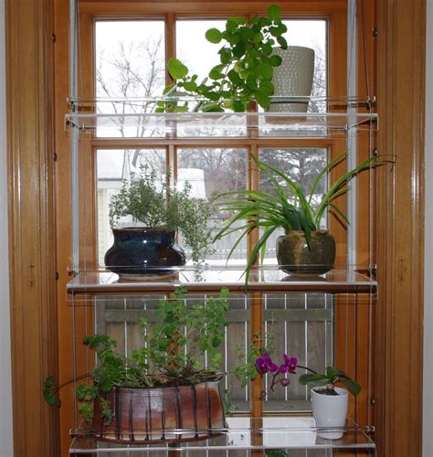 Plant Window by Beautiful Views Plant Shelves Minnesotafromscratch