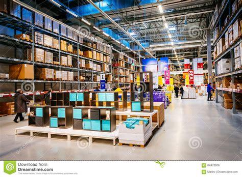 entrepot de produit de bureau intérieur de grand entrepôt d 39 ikea avec un large éventail