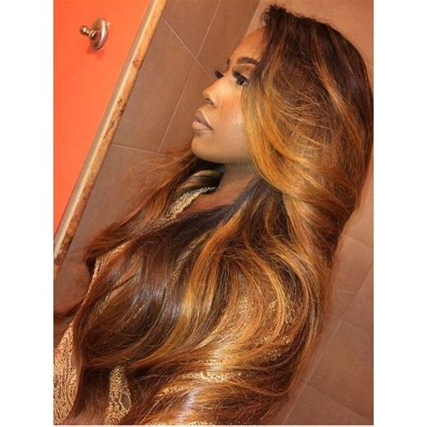 Brown And Weave Hairstyles by Omg This Color Is Great Vintagelyric1