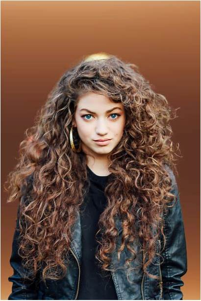 Curly Hairstyles Colors Cool Haircolorsite