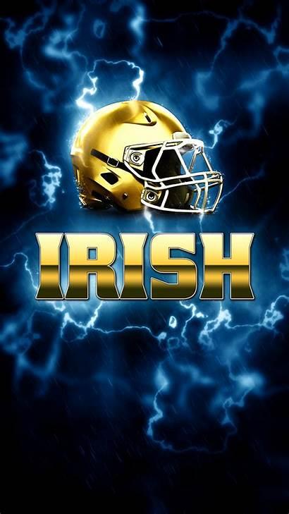 Dame Notre Football Irish Phone Wallpapers Fighting