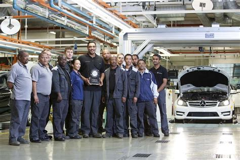 The plant will join the global production network for the upcoming model as of 2014. Mercedes-Benz South Africa production plant takes Silver in Europe-Africa