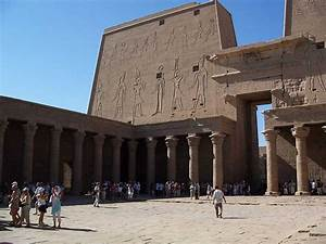Temple of Horus at Edfu - Crystalinks