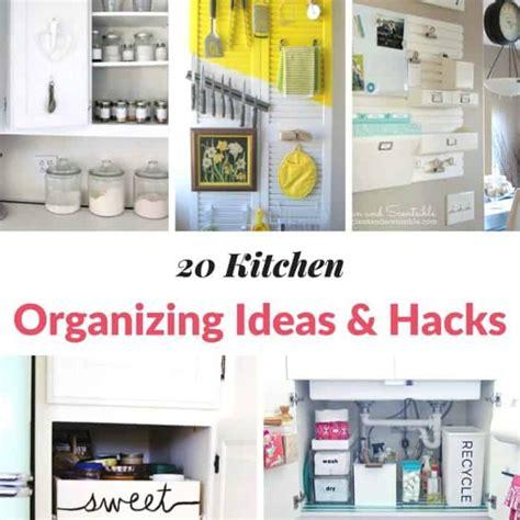 kitchen organization hacks 20 kitchen organizing ideas hacks moment 2358
